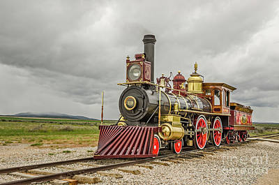 Photograph - Locomotive No. 119 by Sue Smith