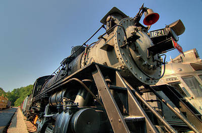 Photograph - Locomotive by Steve Stuller