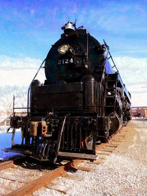 Photograph - Locomotive Train 2124 by Janine Riley