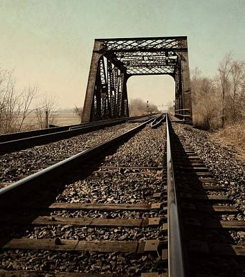 Photograph - Locomotive Truss Bridge by Chris Berry