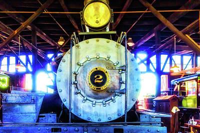 Locomotive Works No 2 Art Print