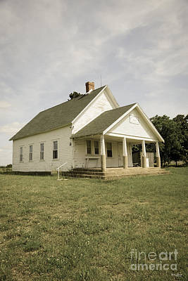 Photograph - Locust Prairie School Aged by Jennifer White