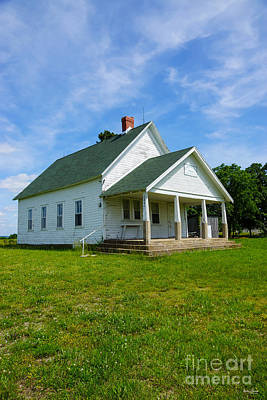 Photograph - Locust Prairie School by Jennifer White