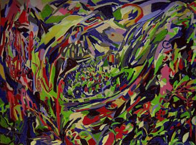 Lodge Of Bliss  Art Print by Tadeush Zhakhovskyy