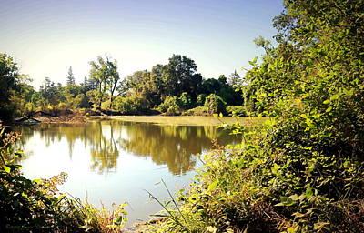 Photograph - Lodi Pig Lake Reflections by Joyce Dickens