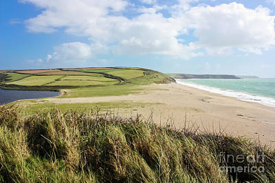 Photograph - Loe Bar Cornwall by Terri Waters