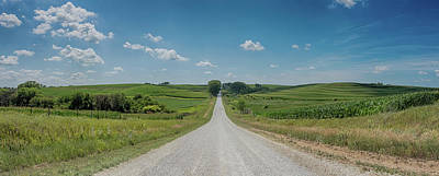 Photograph - Loess Hills Backroads by Susan Rissi Tregoning