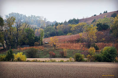 Shed Digital Art - Loess Hills-hitchcock Loop by Kathy M Krause