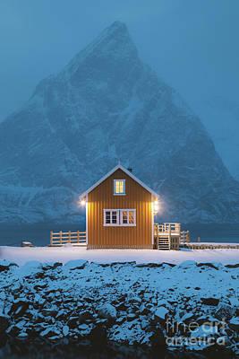 Photograph - Lofoten Blue Hour by JR Photography