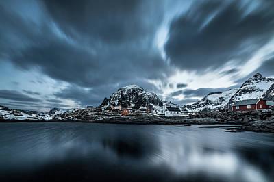 Photograph - Lofoten Houses by Sebastian Worm