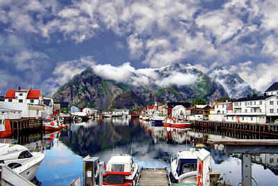 Photograph - Lofoten Islands by Anthony Dezenzio