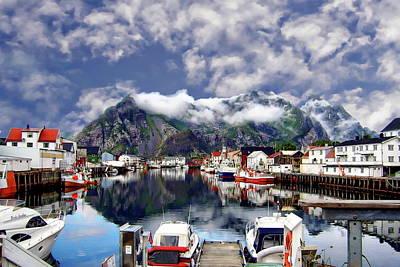 Photograph - Lofoten Islands by Anthony Dezenzio