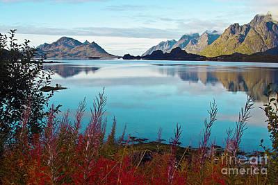 Impressionism Photos - Lofoten Islands by Heiko Koehrer-Wagner