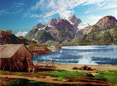 Photograph - Lofoten, Norway - Remastered by Carlos Diaz