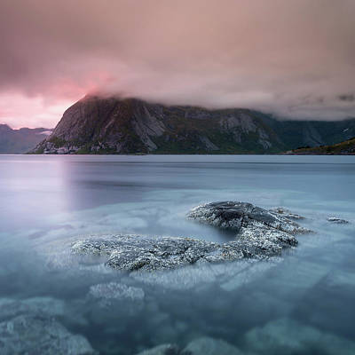 Photograph - Lofoten Sunset by Alex Conu