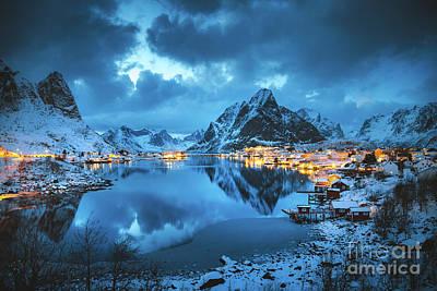 Photograph - Lofoten Winter Dreams by JR Photography