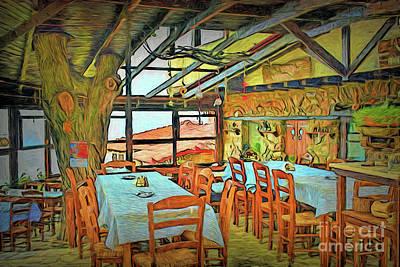 Photograph - Loft Cafe 16518 by Ray Shrewsberry