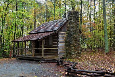 Photograph - Log Cabin by Jill Lang