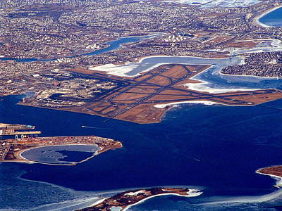 Photograph - Logan Airport by T Guy Spencer