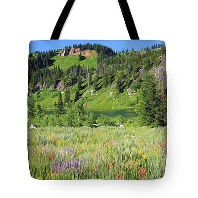 Photograph - Logan Canyon - Tote by Donna Kennedy