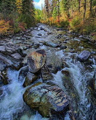 Photograph - Logan Creek 2016 by Jedediah Hohf