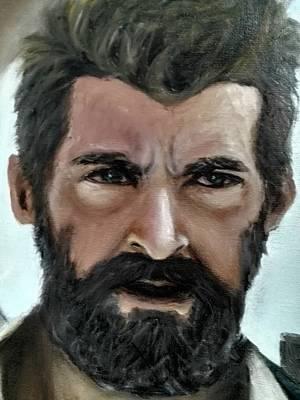 Xmen Painting - Logan by Enriqueto Sabio