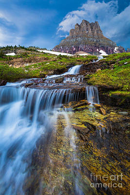 Clements Photograph - Logan Pass Stormclouds by Inge Johnsson