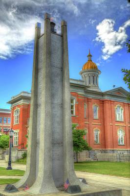 Photograph - Logan Veterans Memorial by Donna Kennedy