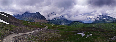 Photograph - Logans Pass by Christopher Lugenbeal