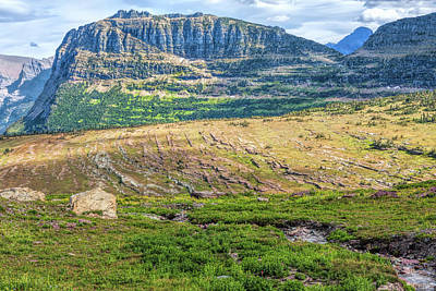 Photograph - Logan's Pass by John M Bailey