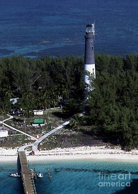 Tortuga Beach Photograph - Loggerhead Key Florida Lighthouse by Skip Willits