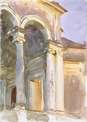 Villa Painting - Loggia by Celestial Images