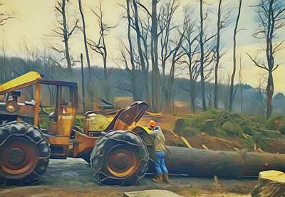 World Forgotten - Logging by Jenn Teel