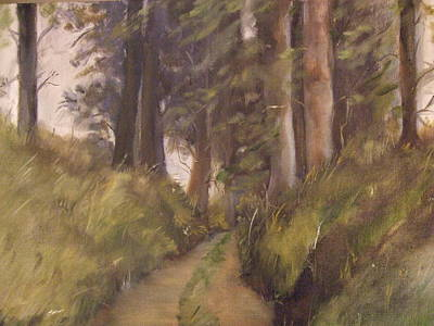 Painting - Logging Road by Janet Visser