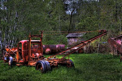 Logging Vehicle Art Print