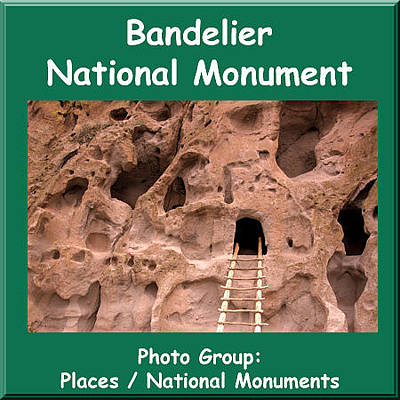 Photograph - Logo Bandelier National Monument by NaturesPix