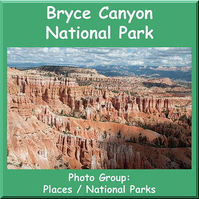 Photograph - Logo Bryce Canyon National Park by NaturesPix