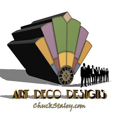 Digital Art - Logo by Chuck Staley