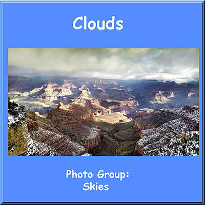 Photograph - Logo Clouds by NaturesPix