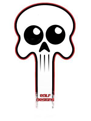 Logo  Art Print by Eric De La Fuente