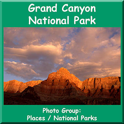 Photograph - Logo Grand Canyon by NaturesPix