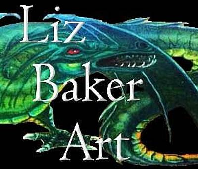 Painting - Logo by Liz Baker