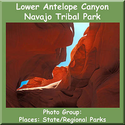 Photograph - Logo Lower Antelope Navajo Tribal Park by NaturesPix
