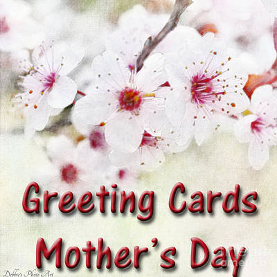 Photograph - Logo - Mothers Day Creeting Cards by Debbie Portwood