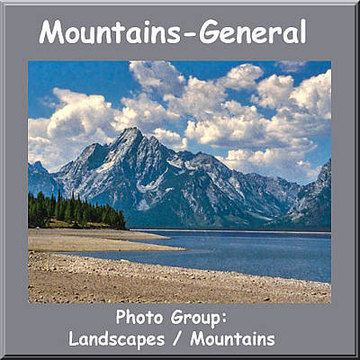 Photograph - Logo Mountains General by NaturesPix