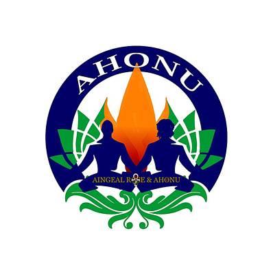 Digital Art - Logo Of Ahonu.com by Ahonu