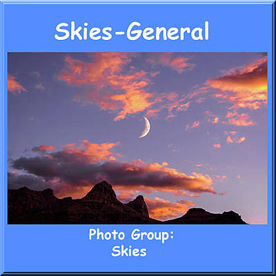 Photograph - Logo Skies General by NaturesPix