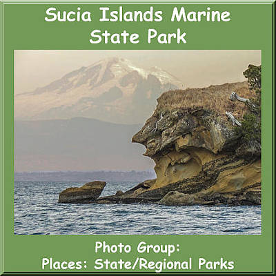 Photograph - Logo Sucia Islands Marine State Park by NaturesPix