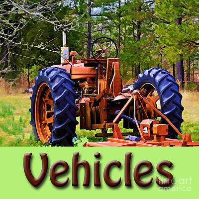 Photograph - Logo - Vehicles Gallery by Debbie Portwood