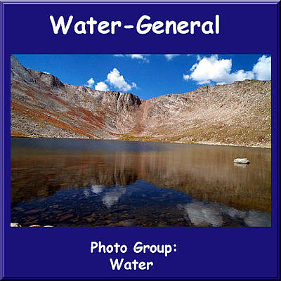 Photograph - Logo Water General New2 by NaturesPix